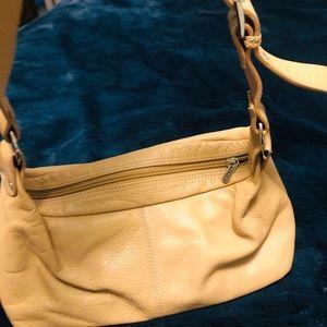 Camel color small shoulder bag
